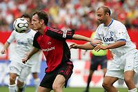 v.l. Markus Schroth Nuernberg, Pawel Drsek<br /> Bundesliga 1. FC Nuernberg - VfL Bochum<br /> Nürnberg<br /> Norway only