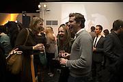 JENNY MAC LEAN OF COLL, SARA HENDRICKS AND BEN JENNINGS. Wallpaper Design Awards. Old Post Sorting Office. New Oxford St. London. 9 January 2008. -DO NOT ARCHIVE-© Copyright Photograph by Dafydd Jones. 248 Clapham Rd. London SW9 0PZ. Tel 0207 820 0771. www.dafjones.com.