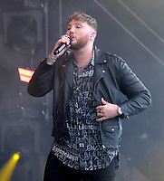 James Arthur live at Isle of Wight Festival Photo By Dawn Fletcher-Park