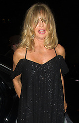 Geoldie Hawn  bei der Ankunft zu Goldie's Love In For The Kids Charity Fundraiser in London / 260916<br /> ***Arrivals for Goldie's Love In For The Kids Charity Fundraiser on September 26, 2016 in London, UK.***