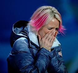 14-02-2010 ALGEMEEN: OLYMPISCHE SPELEN: CEREMONIE: VANCOUVER<br /> BAHRKE Shannon USA <br /> ©2010-WWW.FOTOHOOGENDOORN.NL