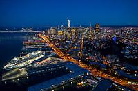 Embarcadero, Telegraph Hill & Downtown San Francisco