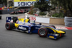May 26, 2017 - Monaco, Monaco - 09 ROWLAND Oliver from Great Britain of Dams celebrating the victory on the first race during the Monaco Grand Prix of the FIA Formula 2 championship, at Monaco on 26th of May of 2017. (Credit Image: © Xavier Bonilla/NurPhoto via ZUMA Press)