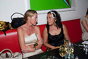 INDIA HICKS; NAZARIN YACHAR, Prada Congo Benefit party. Double Club. Torrens Place. Angel. London. 2 July 2009.