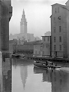 Cuyahoga  River in the 1940's