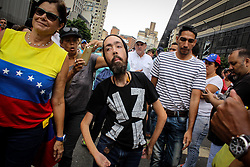 Long distance runner Maickel Melamed left on Monday, May 1, 2016 against the government of President Nicolas Maduro.