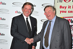 ** File picture of Sir Terry Wogan, who has died of cancer at the age of 77 **© Licensed to London News Pictures. 07/02/2012.  England. Terry Wogan  and Ken Clarke attends the Oldies of the year Awards at Simpsons hotel in the Strand London Photo credit : ALAN ROXBOROUGH/LNP