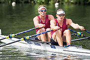 Henley Royal Regatta, Henley on Thames, Oxfordshire, 28 June - 2 July 2017.  Friday  10:51:46   30/06/2017  [Mandatory Credit/Intersport Images]<br /> <br /> Rowing, Henley Reach, Henley Royal Regatta.<br /> <br /> The Double Sculls Challenge Cup<br />  J.W. Storey & C.W. Harris (Waiariki Rowing Club, New Zealand)