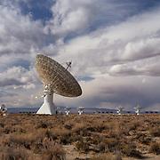 Cal Tech Radio Telescope Array - North Owens Valley