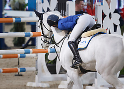 Melchior Judy Ann, (BEL), As Cold As Ice Z <br /> Longines FEI World Cup presented by Landrover<br /> Vlaanderen Kerstjumping - Memorial Eric Wauters - <br /> Mechelen 2015<br /> © Hippo Foto - Dirk Caremans<br /> 30/12/15