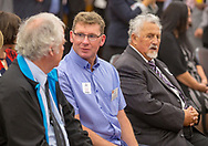 Announcement of the finalists in the 2018 Dairy Competition in the Great Hall at Parliament - Ahuwhenua Trophy BNZ Maori Excellence in Farming Award, 22 February 2018. Photo by John Cowpland / alphapix<br /> <br /> CONDITIONS of USE:<br /> <br /> FREE for editorial use in direct relation the Ahuwhenua Trophy competition. ie. not to be used for general stories about the finalist or farming.<br /> <br /> NO archiving of images. NO commercial use. <br /> Please contact John@alphapix.co.nz if you have any questions