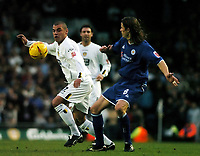 Fotball<br /> Championship England 2004/05<br /> Leeds United v Leicester City<br /> 4. desember 2004<br /> Foto: Digitalsport<br /> NORWAY ONLY<br /> JERMAINE WRIGHT (Leeds)<br /> LILIAN NALIS (LEICESTER)