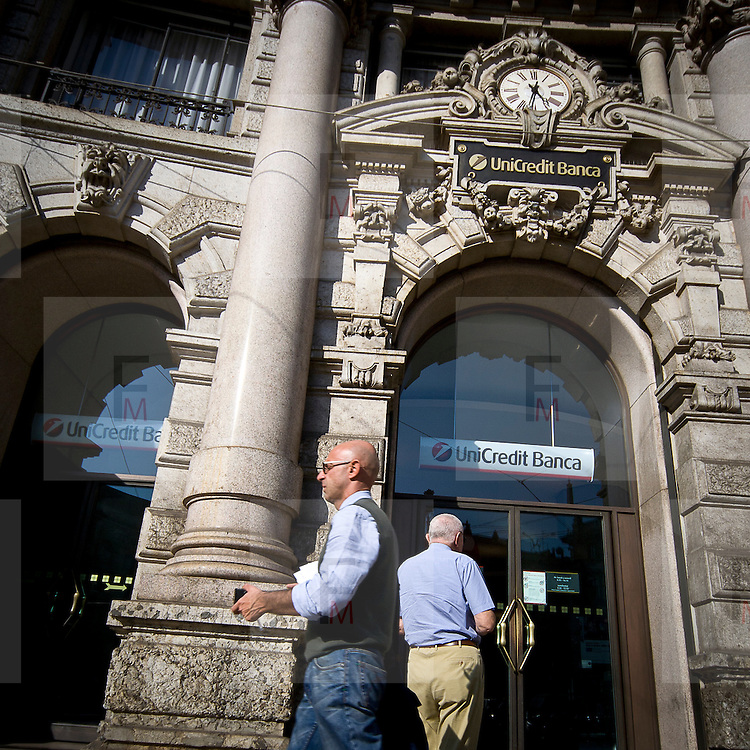 La sede di Unicredit a Milano<br /> <br /> The Unicredit headquarter in Milan
