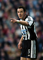 Fotball<br /> Premier League 2004/05<br /> Liverpool v Newcastle<br /> 19. desember 2004<br /> Foto: Digitalsport<br /> NORWAY ONLY<br /> Andy O'Brien<br /> Newcastle United 2004/05