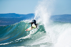 Matt Wilkinson (AUS) is eliminated from the 2018 Corona Open J-Bay with an equal 25th finish after placing second in Heat 12 of Round 2 at Supertubes, Jeffreys Bay, South Africa.