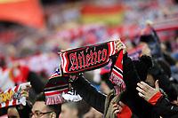 Atletico de Madrid's supporters during La Liga match. February 21,2016. (ALTERPHOTOS/Acero)