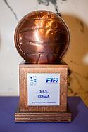 Trofeo<br /> Presentazione Campionato Italiano Pallanuoto 2019-2020<br /> Federazione Italiana Nuoto FIN<br /> Foro Italico Sala conferenze 03/10/2019<br /> Photo © Deepbluemedia