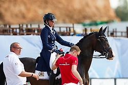 Roos Laurence, BEL, Fil Rouge<br /> World Equestrian Games - Tryon 2018<br /> © Hippo Foto - Sharon Vandeput<br /> 14/09/2018
