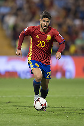 October 6, 2017 - Alicante, Spain - Marcos Asensio (Real Madrid) during the qualifying match for the World Cup Russia 2018 between Spain and Albaniaat the Jose Rico Perez stadium in Alicante, Spain on October 6, 2017. (Credit Image: © Jose Breton/NurPhoto via ZUMA Press)