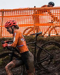 VAN DER HEIJDEN Inge (NED) during Women Under 23 race, 2020 UCI Cyclo-cross Worlds Dübendorf, Switzerland, 2 February 2020. Photo by Pim Nijland / Peloton Photos   All photos usage must carry mandatory copyright credit (Peloton Photos   Pim Nijland)