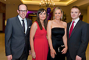 Peter O 'Neill, Tyrone, Sinead FitzpatrickDown,  Lucy Boyle Claremorris and Robert Shadwick, Dublin, at the Take Me Out for Cancer Care West in the Sathill Hotel, Galway . Photo:Andrew Downes.