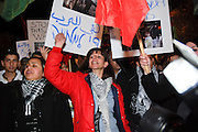Israel, Tel Aviv, Anti war protest January 2009