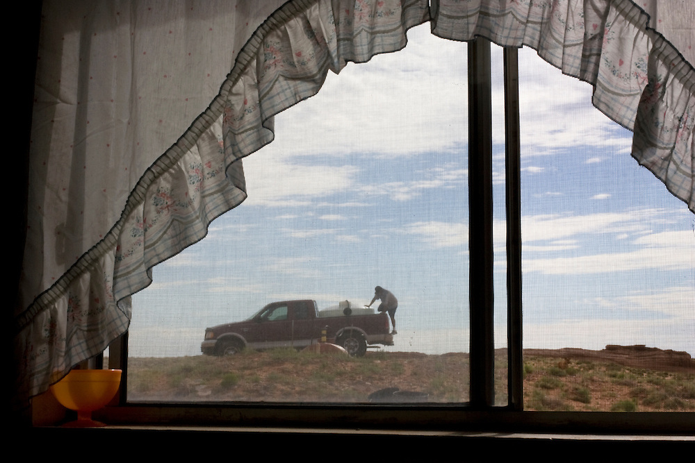 Jonathan Greyhatt and 70,000 other Navajos haul water daily or weekly to meet their basic needs. The Navajo Nation faces an almost unfathomable water crisis, one that has persisted so long; that it has wormed its way into the routines of life on the nation's largest Indian reservation. Easing the crisis will require decades of work, billions of dollars and the patience to cut through the politics of Western water.