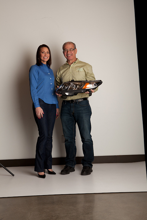 21 November 2011-Boyd and Darcie Dingman are photographed at minorwhite studios for Omaha Magazine.