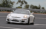 2007 Porsche 997 GT3 (Carrera White) .Corporate Drive Day with Octane Events & The Supercar Club.Arthurs Seat, Mornington Pennisula, Victoria .6th-7th of August 2009 .(C) Joel Strickland Photographics
