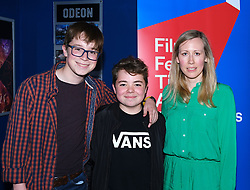 Edinburgh International Film Festival 2019<br /> <br /> Love Type D (UK Premiere)<br /> <br /> Pictured: (l to r) Rory Stroud, Samuel Jones and Director Sasha Collington<br /> <br /> Alex Todd | Edinburgh Elite media