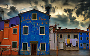 Before the Storm, Burano, Italy.
