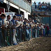 The way of respect at the Darby MT Elite Proffesionals Bull Riding Event July 7th 2017.  Photo by Josh Homer/Burning Ember Photography.  Photo credit must be given on all uses.