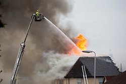 Police and emergency services attend a fire in Forth Bay Nursing Home in Walker Street, Kincardine. Firefighters were called to the Forth Bay Nursing Home and Police Scotland said all residents and staff had been accounted for. There are not thought to have been any injuries.