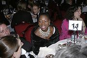 Floella Benjamin,  Costa Book Awards 2006. Grosvenor House Ballroom. Park Lane, London. 7 February 2007. -DO NOT ARCHIVE-© Copyright Photograph by Dafydd Jones. 248 Clapham Rd. London SW9 0PZ. Tel 0207 820 0771. www.dafjones.com.