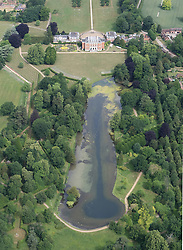 Image ©Licensed to i-Images Picture Agency. Aerial views. United Kingdom.<br /> Chevening House, weekend residence of the Foreign Secretary. Picture by i-Images