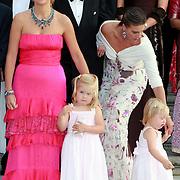 NLD/Apeldoorn/20070901 - Viering 40ste verjaardag Prins Willem Alexander, Maxima, Amalia en Ariana