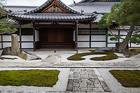 Rinka-in Temple is one of 38 Buddhist sub temples,  within the compound of Myoshinji - a  large Rinkai Zen Buddhist temple complex in Kyoto. Rinka-in is not open to the public normally.
