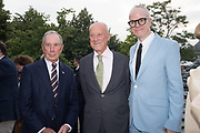 MICHAEL BLOOMBERG, LORD FOSTER, HANS-ULRICH OBRIST, The Serpentine Party pcelebrating the 2019 Serpentine Pavilion created by Junya Ishigami, Presented by the Serpentine Gallery and Chanel,  25 June 2019