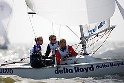 08_002709 © Sander van der Borch. Medemblik - The Netherlands,  May 24th 2008 . Day 4 of the Delta Lloyd Regatta 2008.