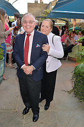PICTURE SHOWS:-PHILIP & JOAN KINGSLEY.<br /> Tuesday 14th April 2015 saw a host of London influencers and VIP faces gather together to celebrate the launch of The Ivy Chelsea Garden. Live entertainment was provided by jazz-trio The Blind Tigers, whilst guests enjoyed Moët & Chandon Champagne, alongside a series of delicious canapés created by the restaurant's Executive Chef, Sean Burbidge.<br /> The evening showcased The Ivy Chelsea Garden to two hundred VIPs and Chelsea<br /> residents, inviting guests to preview the restaurant and gardens which marry<br /> approachable sophistication and familiar luxury with an underlying feeling of glamour and theatre. The Ivy Chelsea Garden's interiors have been designed by Martin Brudnizki Design Studio, and cleverly combine vintage with luxury, resulting in a space that is both alluring and down-to-earth.