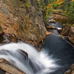 Smalls Falls near Rangeley, Maine.