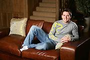 michael owen at his northop home feb 2007