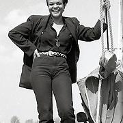NLD/Huizen/19930420 - Ruth Jacott op de Huizer Botter Janus Kok