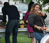 This photo is from the  Student BBQ at Bergen Community College on August 7, 2013. / Photo by Russ DeSantis Photography and Video, LLC