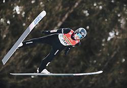 16.02.2020, Kulm, Bad Mitterndorf, AUT, FIS Ski Flug Weltcup, Kulm, Herren, im Bild Jakub Wolny (POL) // Jakub Wolny of Poland during the men's FIS Ski Flying World Cup at the Kulm in Bad Mitterndorf, Austria on 2020/02/16. EXPA Pictures © 2020, PhotoCredit: EXPA/ JFK