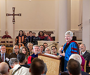 © Photo by Mara Lavitt<br /> October 16, 2019<br /> Yale Divinity School, New Haven, CT<br /> <br /> Nora Tubbs Tisdale gave the 2019 Beecher Lectures.