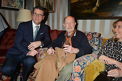 Left to right, PAUL JAMES and NICOLAS ROEG at a private screening of 'A Postcard From Istanbul' directed by John Malkovich In Collaboration With St. Regis Hotels & Resorts held at 5 Hertford Street, London on 3rd March 2015