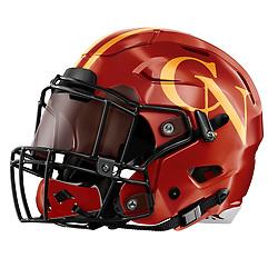 Cardinal Newman High School Football Helmet