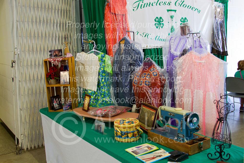 01 August 2014:   McLean County Fair, 4-H sewing display