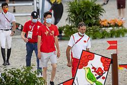 Van Dijck Marc, BEL, Chef d'Equipe Team japan<br /> Olympic Games Tokyo 2021<br /> © Hippo Foto - Dirk Caremans<br /> 06/08/2021